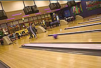 10 Pin Bowling at the Nevis Centre